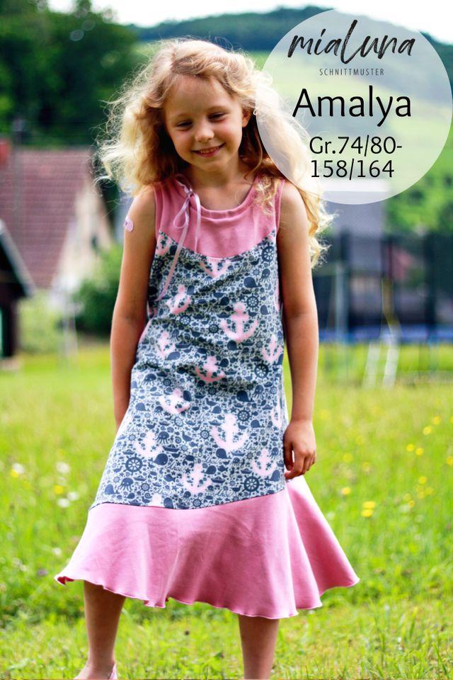 Produktfoto von mialuna zum Nähen für Schnittmuster Amalya