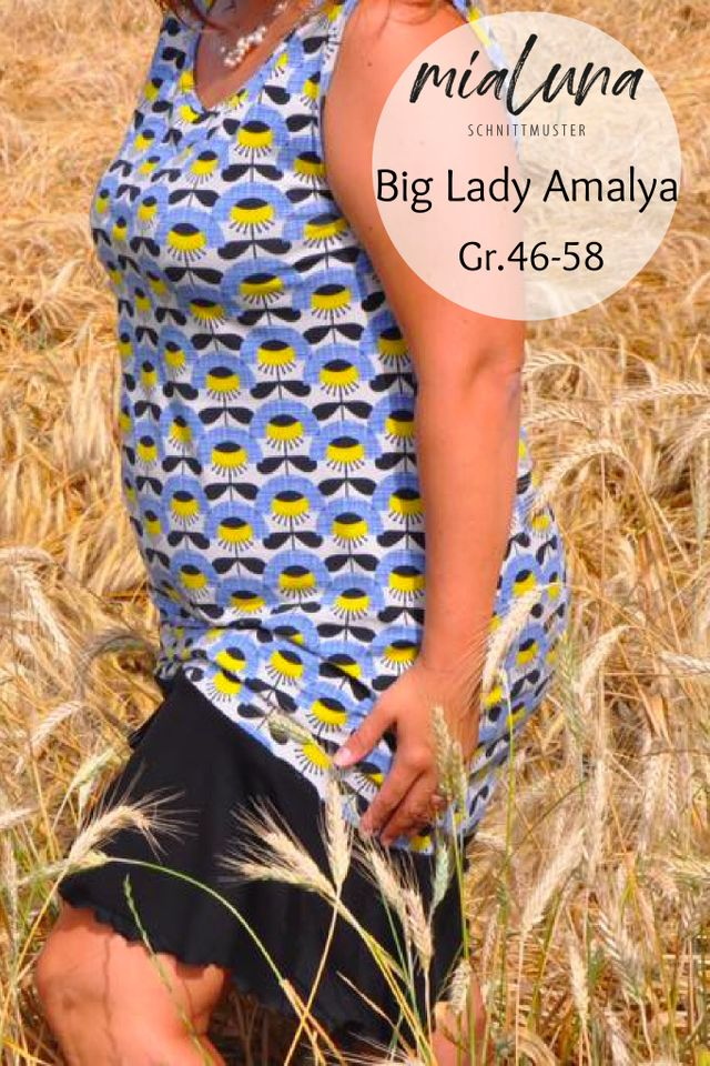 Produktfoto von mialuna zum Nähen für Schnittmuster Big Lady Amalya