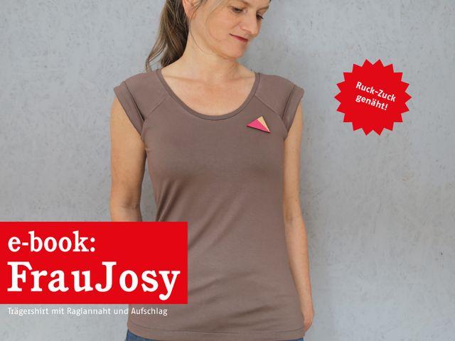 Produktfoto von STUDIO SCHNITTREIF zum Nähen für Schnittmuster Frau Josy