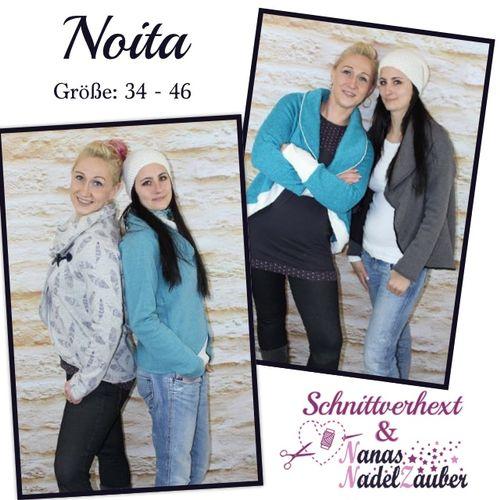 Produktfoto von Schnittverhext zum Nähen für Schnittmuster Noita
