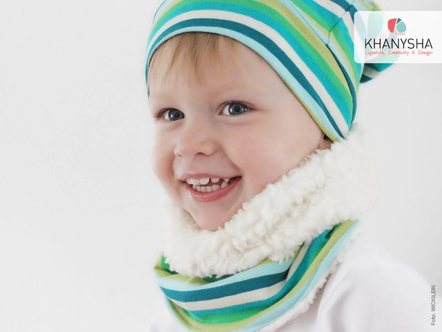 Produktfoto von Khanysha zum Nähen für Schnittmuster Kinderloop Lilli