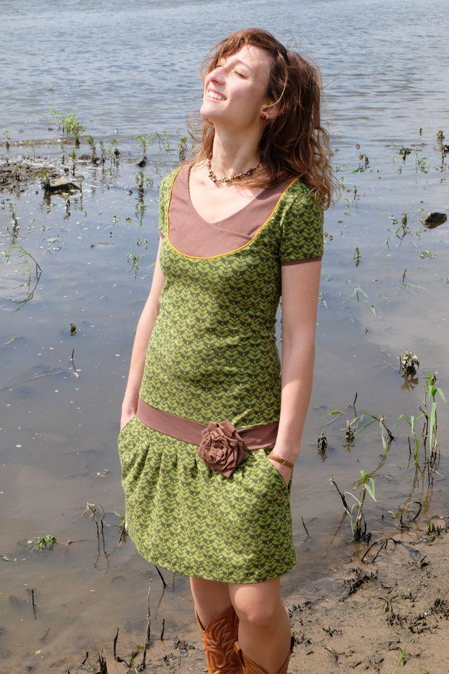 Produktfoto von PRACHTKINDER zum Nähen für Schnittmuster Sommerimmerkleid Anni