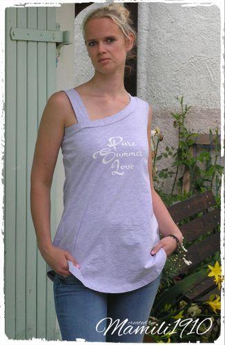 Produktfoto von Mamili1910 für Schnittmuster Shirt/Longshirt SummerPure