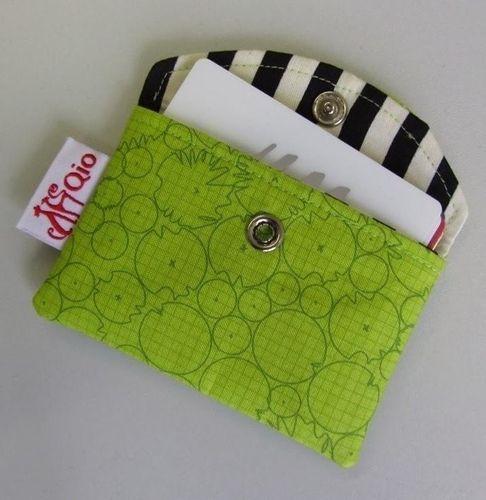 Produktfoto von stoffbreite zum Nähen für Schnittmuster Kartentäschchen
