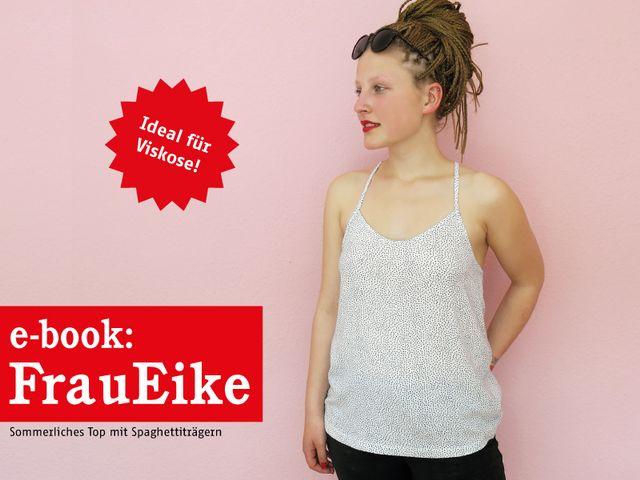 Produktfoto von STUDIO SCHNITTREIF zum Nähen für Schnittmuster Frau Eike