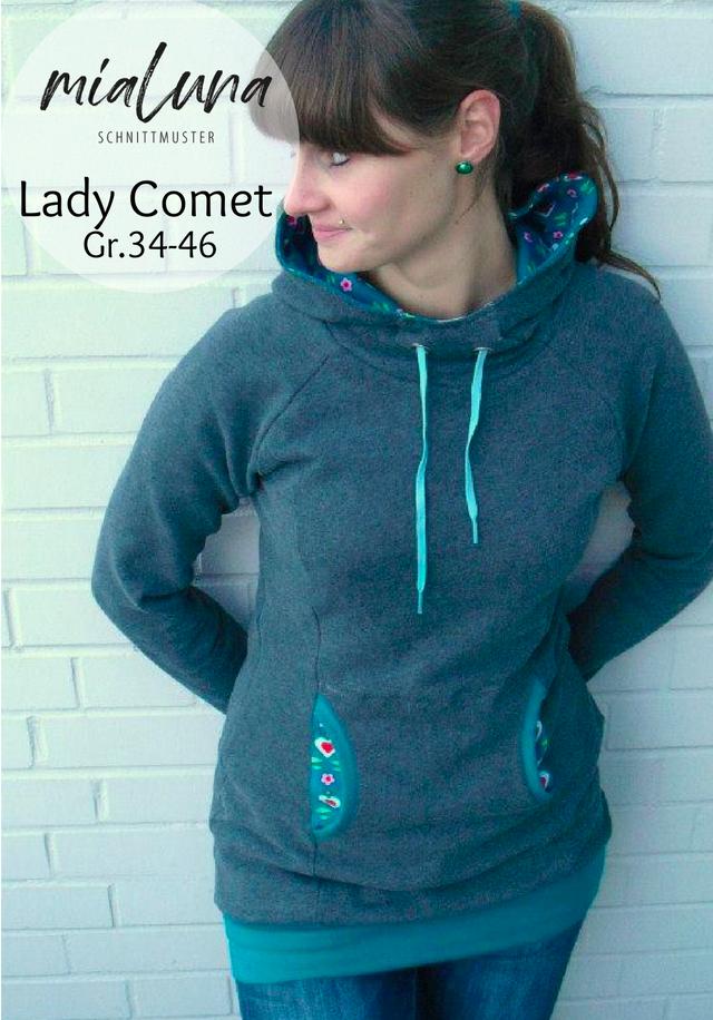 Produktfoto von mialuna zum Nähen für Schnittmuster Lady Comet