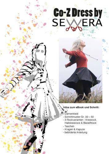 Produktfoto von sewera zum Nähen für Schnittmuster Co-Z Dress