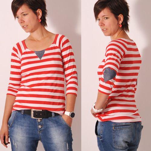 Schnittmuster RAGLAN.shirt4us von Leni Pepunkt