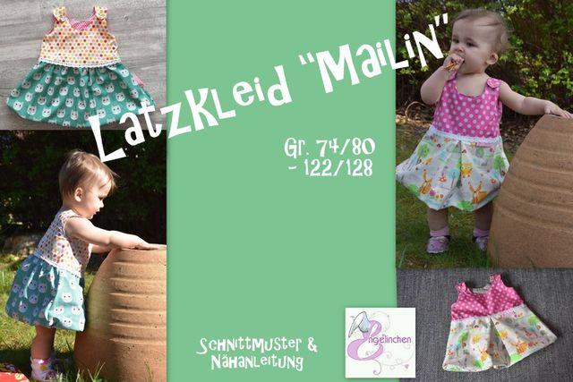 Produktfoto von Engelinchen für Schnittmuster Latzkleid Mailin