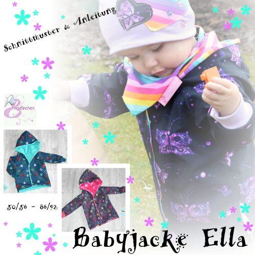 Produktfoto von Engelinchen zum Nähen für Schnittmuster Babyjacke Ella