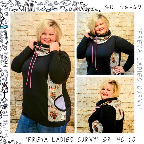 Produktfoto von Finnleys zum Nähen für Schnittmuster Freya Ladies Curvy