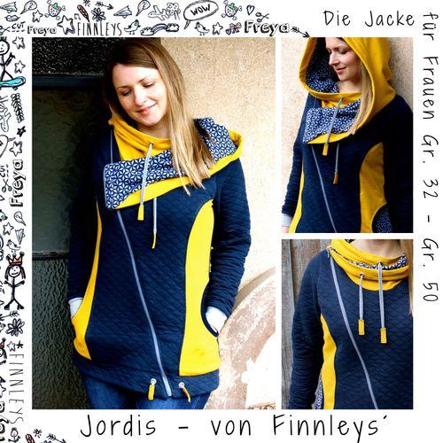Produktfoto von Finnleys zum Nähen für Schnittmuster Jordis