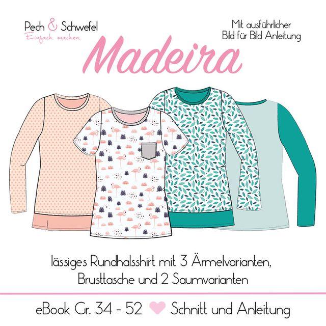 Produktfoto von Pech & Schwefel zum Nähen für Schnittmuster Shirt/Pullover Madeira