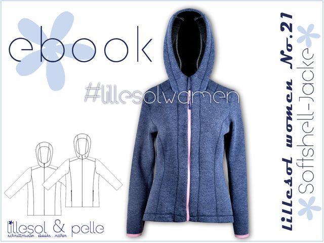 Produktfoto von Lillesol & Pelle zum Nähen für Schnittmuster Lillesol women No. 21 Softshell-Jacke