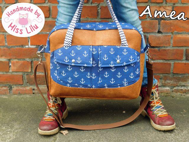 Produktfoto von Handmade by Miss Lilu zum Nähen für Schnittmuster Amea