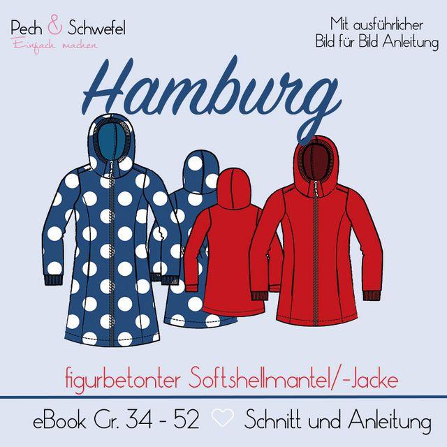 Produktfoto von Pech & Schwefel zum Nähen für Schnittmuster Softshellmantel/-jacke Hamburg