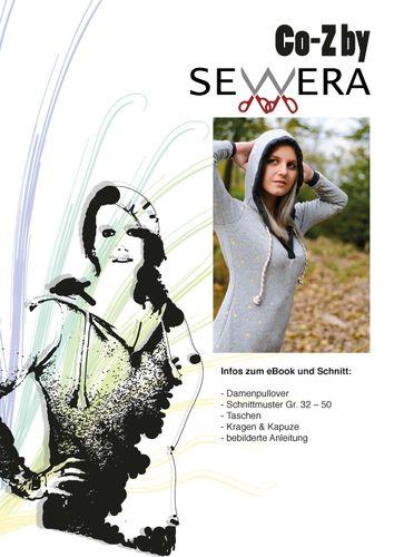 Produktfoto von sewera zum Nähen für Schnittmuster Co-Z Damenhoodie