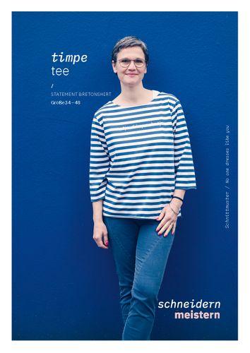 Produktfoto von schneidernmeistern zum Nähen für Schnittmuster Timpe Tee
