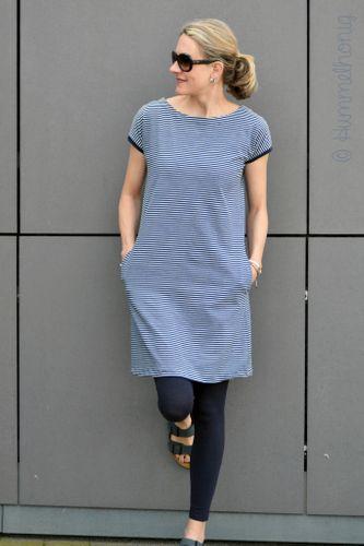 Produktfoto von Hummelhonig zum Nähen für Schnittmuster Rimini - Kleid