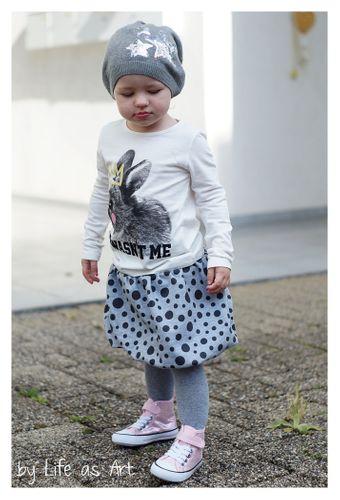 Produktfoto von MiToSa-Kreativ zum Nähen für Schnittmuster Ballonrock Plusterblume