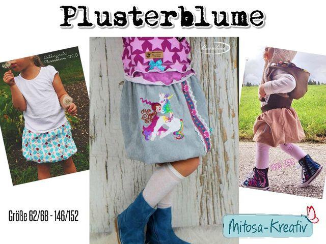 Produktfoto von MiToSa-Kreativ zum Nähen für Schnittmuster Plusterblume