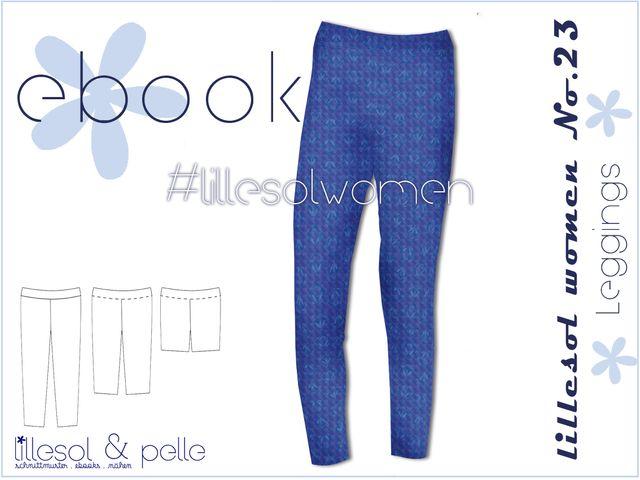 Produktfoto von Lillesol & Pelle zum Nähen für Schnittmuster Lillesol women No. 23 Leggings