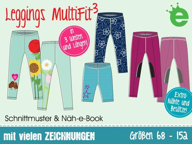 Produktfoto von Erbsenprinzessin zum Nähen für Schnittmuster Leggings MultiFit