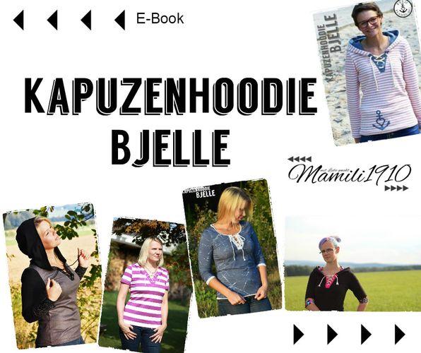 Produktfoto von Mamili1910 zum Nähen für Schnittmuster Kapuzenhoodie Bjelle