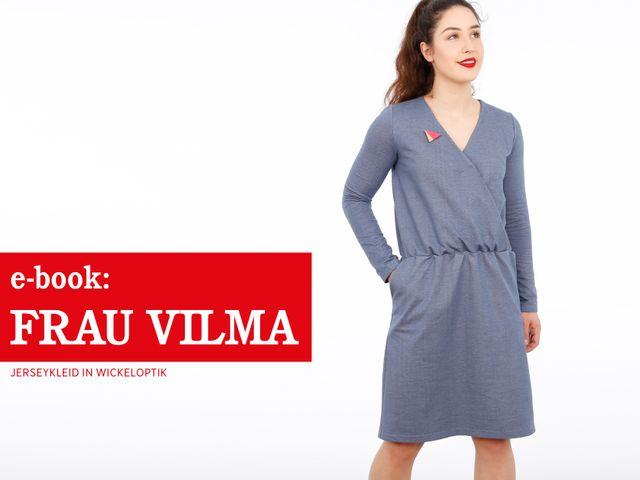 Produktfoto von STUDIO SCHNITTREIF zum Nähen für Schnittmuster Frau Vilma