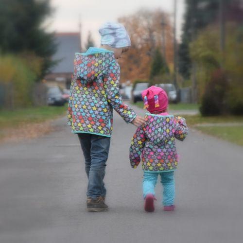 Produktfoto von Engelinchen für Schnittmuster Kinderjacke Lisa & Lasse