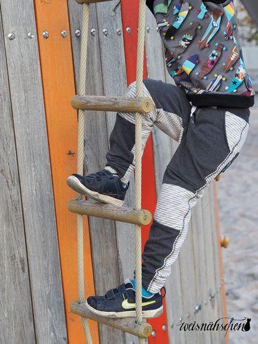 Produktfoto von textilsucht für Schnittmuster Kinderhose Steppo
