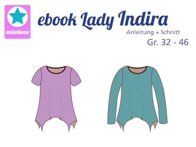 Produktfoto von mialuna zum Nähen für Schnittmuster Lady Indira