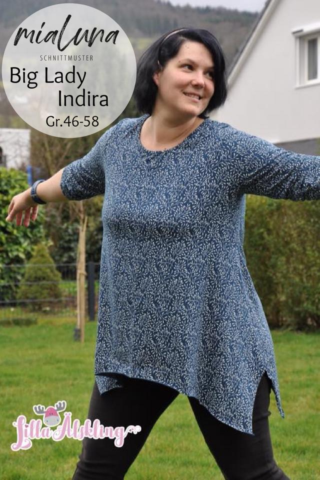 Produktfoto von mialuna zum Nähen für Schnittmuster Big Lady Indira