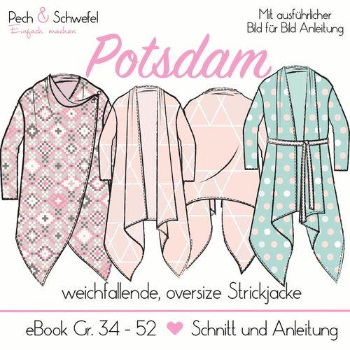 Produktfoto von Pech & Schwefel für Schnittmuster Cardigan Potsdam