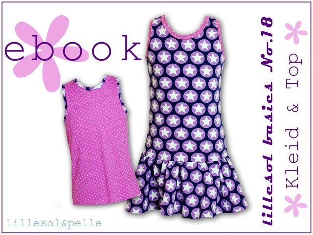 Produktfoto von Lillesol & Pelle zum Nähen für Schnittmuster Lillesol basics No. 18 Kleid & Top