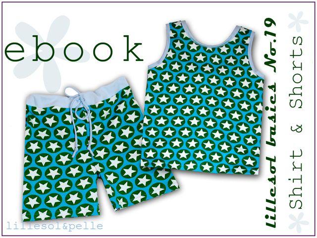 Produktfoto von Lillesol & Pelle zum Nähen für Schnittmuster Lillesol basics No. 19 Shirt & Shorts