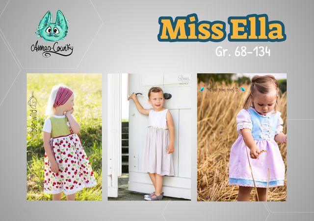 Produktfoto von Annas Country zum Nähen für Schnittmuster Miss Ella