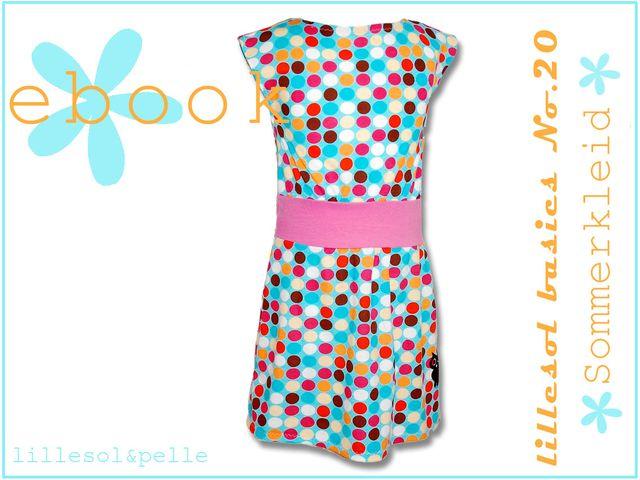 Produktfoto von Lillesol & Pelle zum Nähen für Schnittmuster Lillesol basics No. 20 Sommerkleid