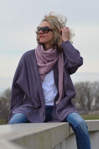 Produktfoto von Hummelhonig zum Nähen für Schnittmuster Damen Cardigan Moskau