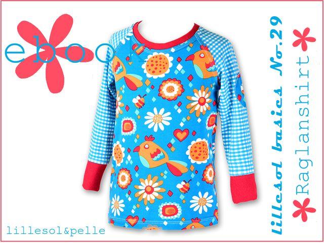 Produktfoto von Lillesol & Pelle zum Nähen für Schnittmuster Lillesol basics No. 29 Raglanshirt