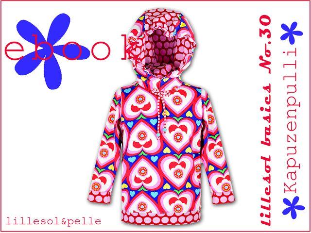 Produktfoto von Lillesol & Pelle zum Nähen für Schnittmuster Lillesol basics No. 30 Kapuzenpulli
