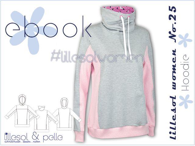 Produktfoto von Lillesol & Pelle zum Nähen für Schnittmuster  Lillesol women No.25 Hoodie