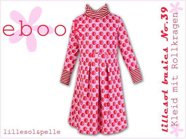 Produktfoto von Lillesol & Pelle zum Nähen für Schnittmuster lillesol basics No. 39 Kleid mit Rollkragen