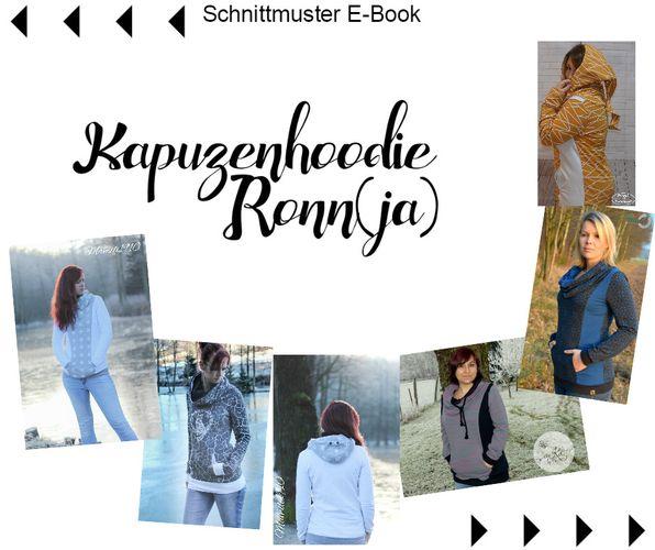 Produktfoto von Mamili1910 zum Nähen für Schnittmuster Kapuzenhoodie Ronn(ja)