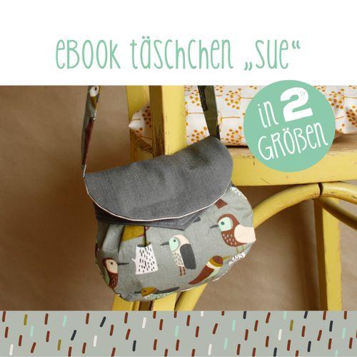 Produktfoto von käselotti zum Nähen für Schnittmuster Täschchen Sue