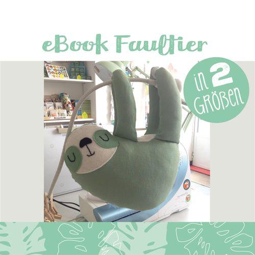 Produktfoto von käselotti zum Nähen für Schnittmuster Faultier