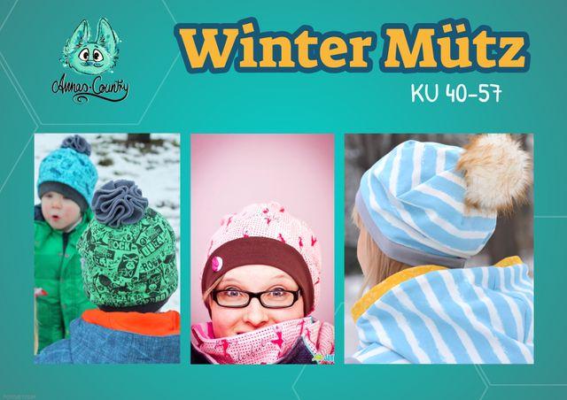 Produktfoto von Annas-Country zum Nähen für Schnittmuster Winter Mütz