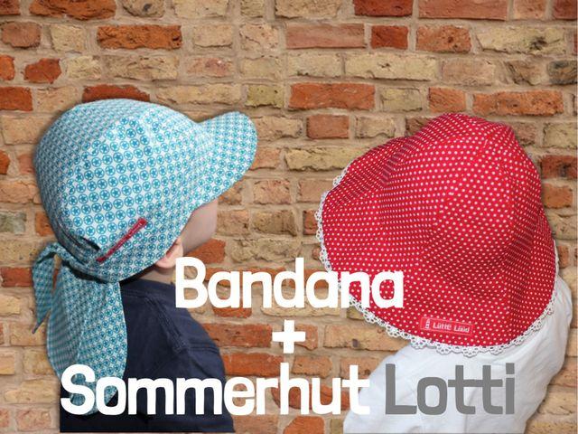 Produktfoto 1 von Windschnittich zum Nähen für Schnittmuster Bandana + Sommerhut Lotti