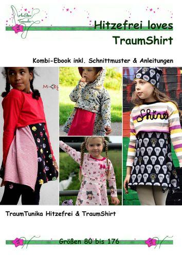 Produktfoto 1 von AmElina Träumelie zum Nähen für Schnittmuster Hitzefrei loves TraumShirt