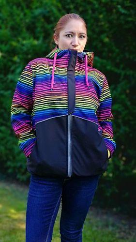 Produktfoto 1 von Mamili1910 zum Nähen für Schnittmuster KombiEBook Jacke Pihla Sweat+Softshell